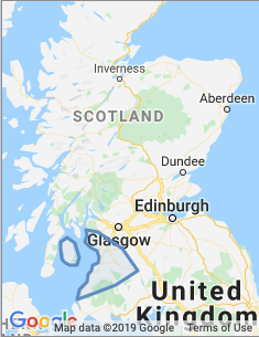 Area covered by Ayr branch