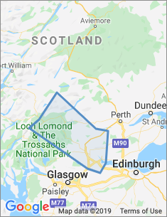 Area covered by Stirling branch