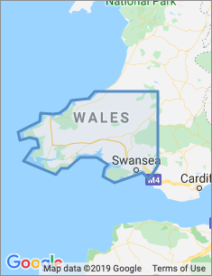Area covered by Swansea branch
