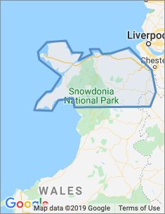 Area covered by Wrexham branch